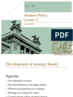 Business Policy Lecture 2