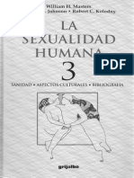 Masters, W., Johnson, V., y Kolodny, R. (1995). Disfunsiones Sexuales y Terapia Sexual