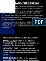 Demand Forecast In
