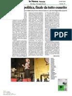 Festival della Politica 2014 - Rassegna Stampa 15-16 Settembre