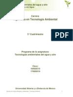 Unidad 2. Tecnologia Del Agua (1)