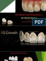 L4 - All Ceramic Preparations