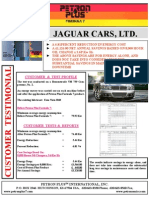 T - Petron Plus Ind. Testimonial - Jaguar Cars[1]
