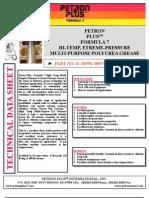 Petron Plustm Formula 7 Hi-temp, Etreme-pressure Multi-purpose Polyurea Grease