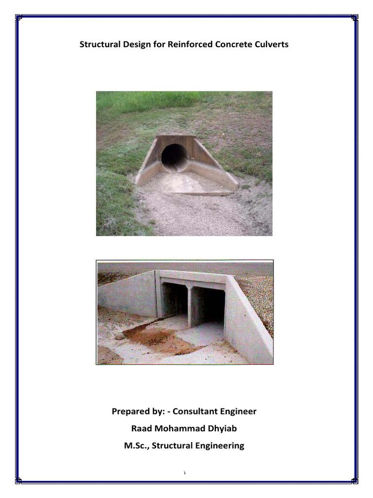 Structuran Design of Reinforced Concrete Culverts pdf