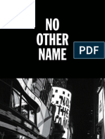 Digital Booklet -  Hillsong Worship-No Other Name