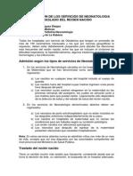 03 Organización de Los Servicios de Neonatología