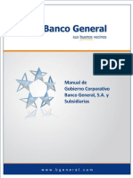 Manual del Gobierno Corporativo del Banco General