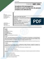 NBR-13994 - Elevadores De Passageiros - Elevadores Para Transporte De Pessoa Portadora De Deficie.pdf