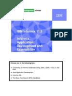 2.4a Informix Application Development Survey Lab