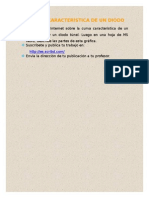 Curva Característica de Un Diodo - GBC