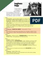 Howard Hughes Chronology
