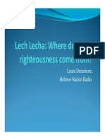 Lech Lecha_Where Does Our Righteousness Come From