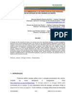 Os Desafios Socioambientais e as Expectativas Dos Parques Eólicos No Estado Do Rio Grande Do Norte
