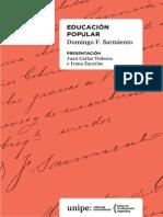 Eduacacion Popular de Domingo F. Sarmiento1