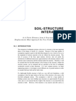 Soil Structure Interaction
