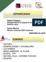3 Espumogenos Rafael Ortigosa