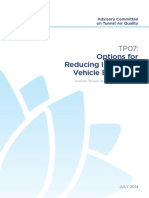 Road-Tunnels TP07 Options for Reducing in Service Vehicle Emissions (1)