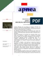 Apnea - Disciplina Mentale E Corporea