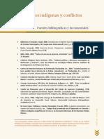 Bibliografia Sobre Movimientos Indigenas y Conflictos Sociales