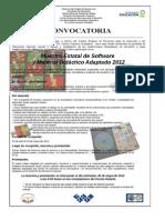 1.2.3 Convocatoria Muestra Software