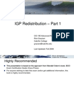 IGP Redistribution Part1(2)