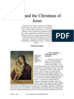 Sartre and the Christmas of Jesus