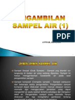 Pengambilan Sampel Air (Early)