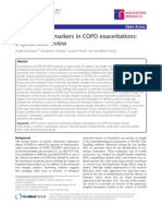 Biomarkers in COPD exacerbations