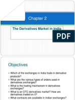 Chapter 02 - The Derivatives Market in India