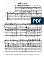Elgar Serenade 1 Score