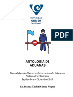 Antolgía de Aduanas I
