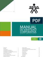 Manual de Imagen Corporativa SENA- 2012