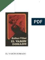 Esther Vilar - El Varón Domado