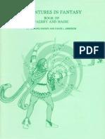 1979 - Adventures in Fantasy - Book of Faerry and Magic