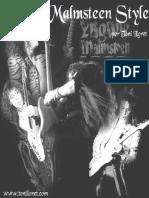 Yngwie Malmsteen estilo pdf español
