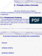 CAPITULO- 5 - Proteção Contra a Corrosão