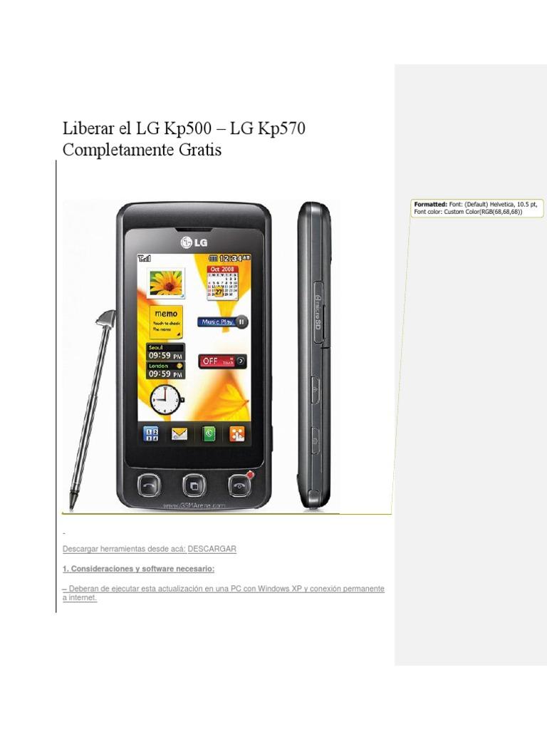 facebook mobile gratuit pour lg kp500