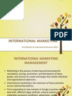 Ch 5 International Marketing