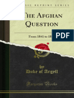 The Afghan Question