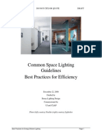 Common Space Lighting Guidelines