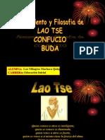 Pensamiento y Filosofia de Lao Tse Confucio y Buda