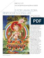 Practices for LamaZopa's Long Life