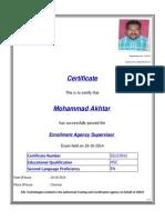 Certificate 325915