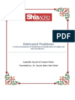Fabricated Traditions - A Critical Assessment of Traditions on Classification of Caliphs and their Excellences