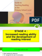 Stages of Reading Development 1