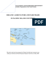 FAO Natural Resources Management and Environment Department - Organic Agriculture and Fair Trade in Pacific Island Countries - May 2009