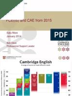 FCE_CAE Revision Cambridge Day Romania