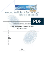 Documentation for CRC-16