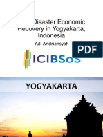 Post-Disaster Economic Recovery in Yogyakarta, Indonesia